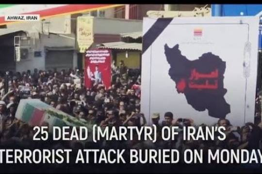 Thousands of Iranians shouted their anger out in the streets of Ahwaz