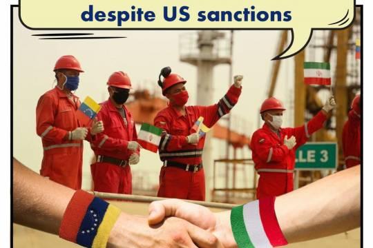 Continued oil cooperation between Iran and Venezuela despite US sanctions