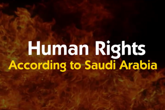 Human Rights According to Saudi Arabia