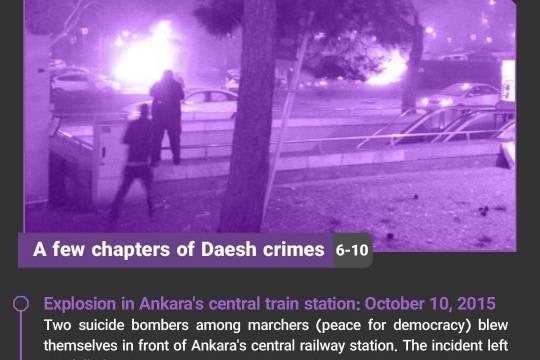 A few chapters of Daesh crimes 2