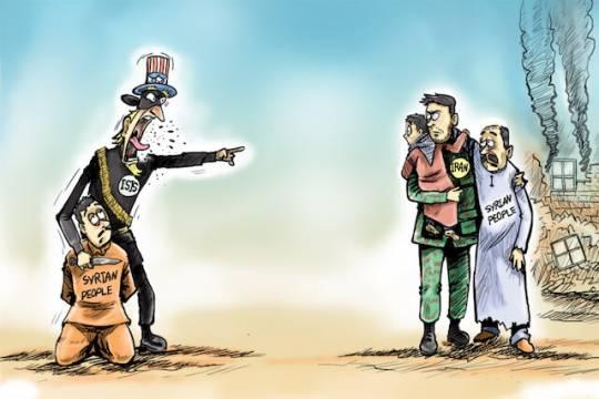 Presence in the region: Iran vs. America