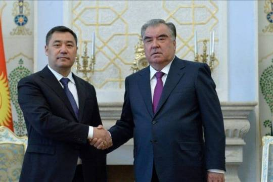 Border conflict compels Kyrgyzstan and Tajikistan to look for peaceful solutions