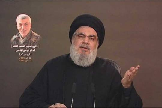 Sayyed Hassan Nasrallah: We are proud of our enmity with the U.S. and Israel