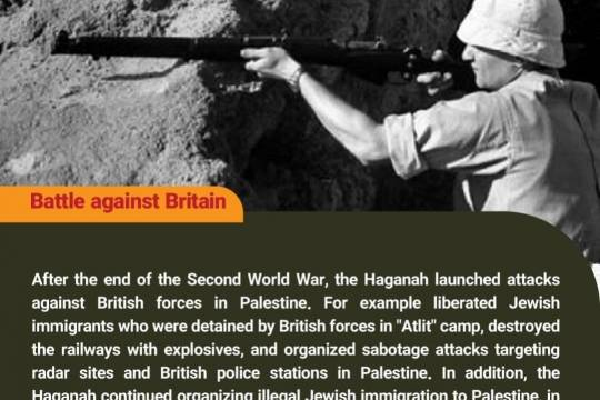 What do you know about the Haganah? 6