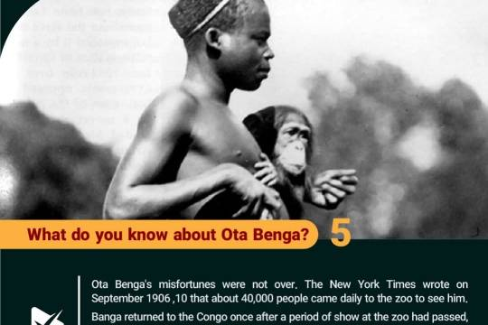 What do you know about Ota Benga? 5