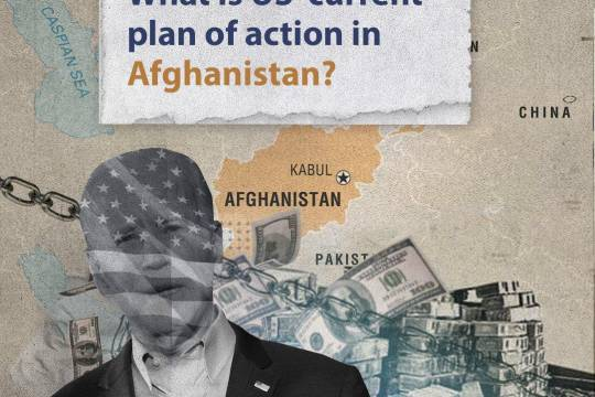 What is US' current plan of action in Afghanistan?