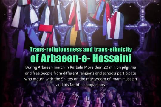 Trans-religiousness and trans-ethnicity of Arbaeen-e-Hosseini 1