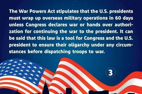 What is the U.S. War Powers Act? 3