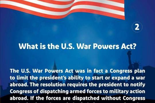 What is the U.S. War Powers Act? 2