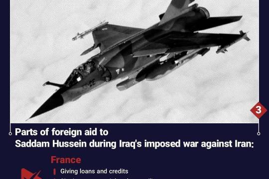 2015 Parts of foreign aid to Saddam Hussein during Iraq's imposed war against Iran