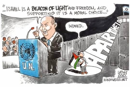 "Israel is definitely a ""beacon of light""…"