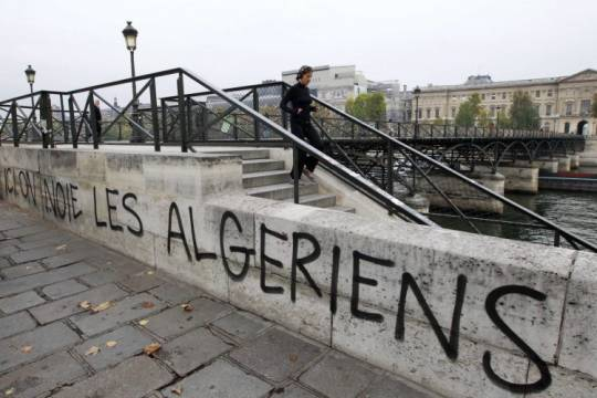 Why are tensions escalating between France and Algeria?