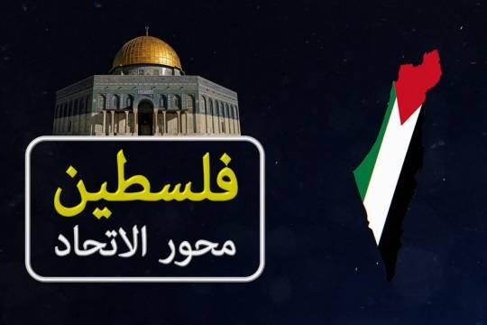 موشن جرافيك / فلسطين محور الاتحاد